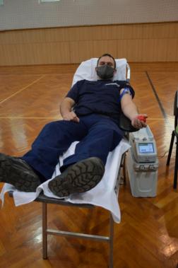 Nem csak lánglovagok adtak vért tegnap